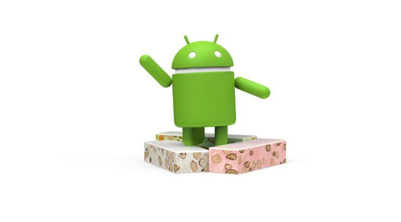 android nougat, screenshot
