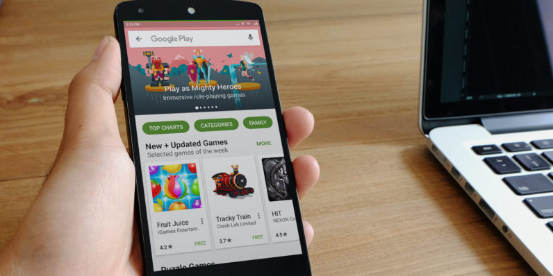 You'll soon be able to share Google Play apps, music and movies with up to 6 people