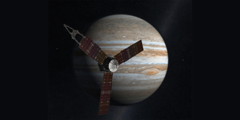 Achievement unlocked: NASA's Juno spaceship is now in Jupiter's orbit