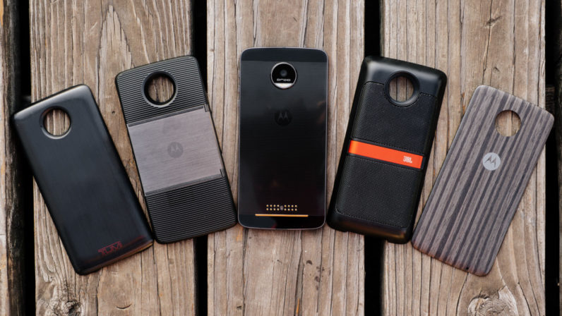 Motorola wants to release four Moto Z Mods per quarter next year