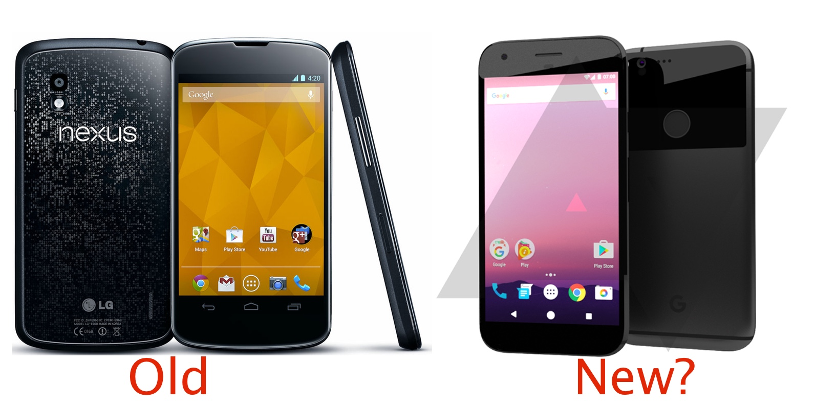 Google's HTC-built 2016 Nexus looks like the 2012 Nexus 4