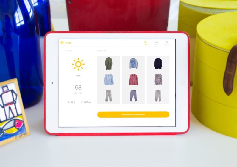 This smart closet will tell you what's best to wear each morning