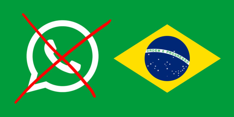 brazil has blocked whatsapp for the third time in a year