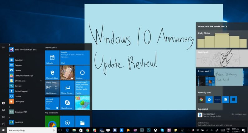 Windows 10 anniversary update review and recap windows 10 anniversary update review everything you need to know ccuart Image collections