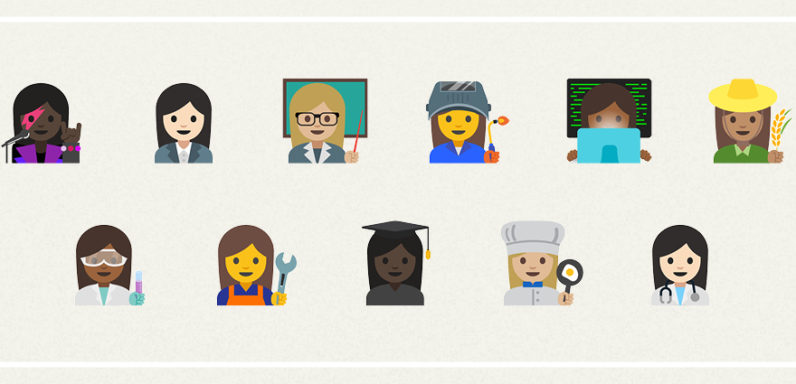 Google is adding new emoji, because that's all it takes to achieve gender equality 💯