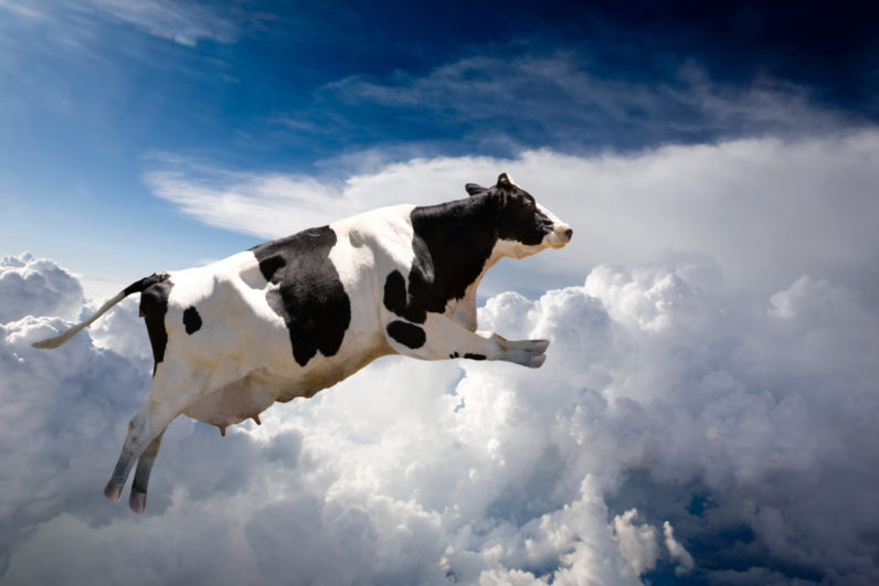 AT&T's Flying COW isn't what you think it is (thank goodness)