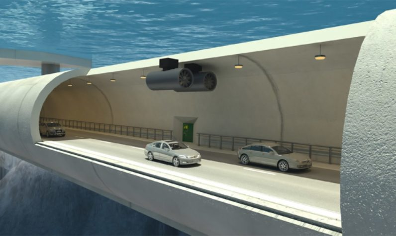 Norway is building the world's first 'floating' underwater tunnels