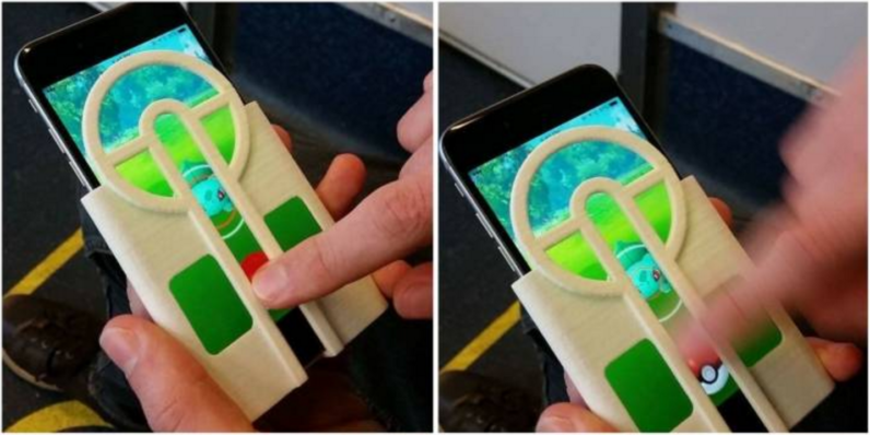 This Pokémon Go case makes it easier to catch 'em all, but it's definitely cheating