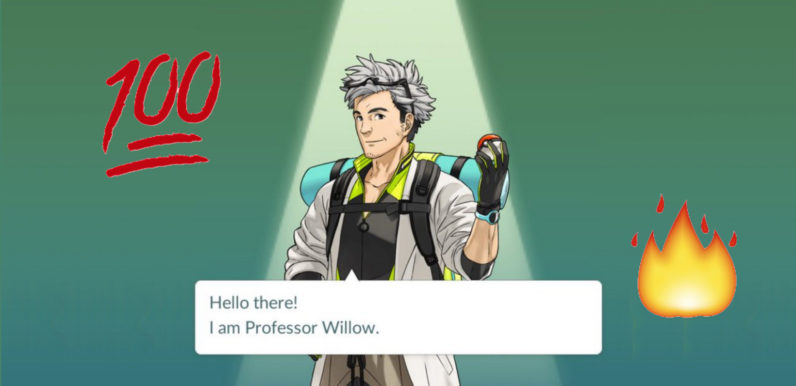 People can't get enough of Pokemon Go's hot new professor
