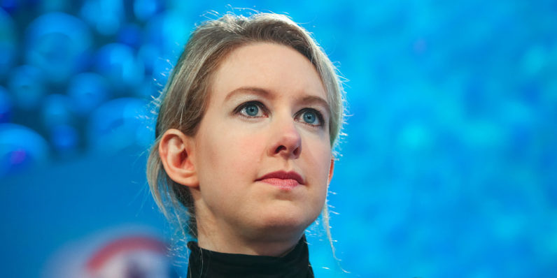 Theranos is closing its blood test facilities and laying off hundreds of employees