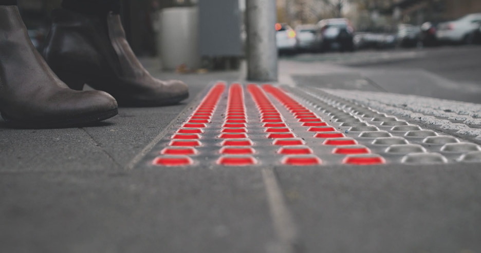 These Pavement Tiles Could Stop Phone Addicts From Walking