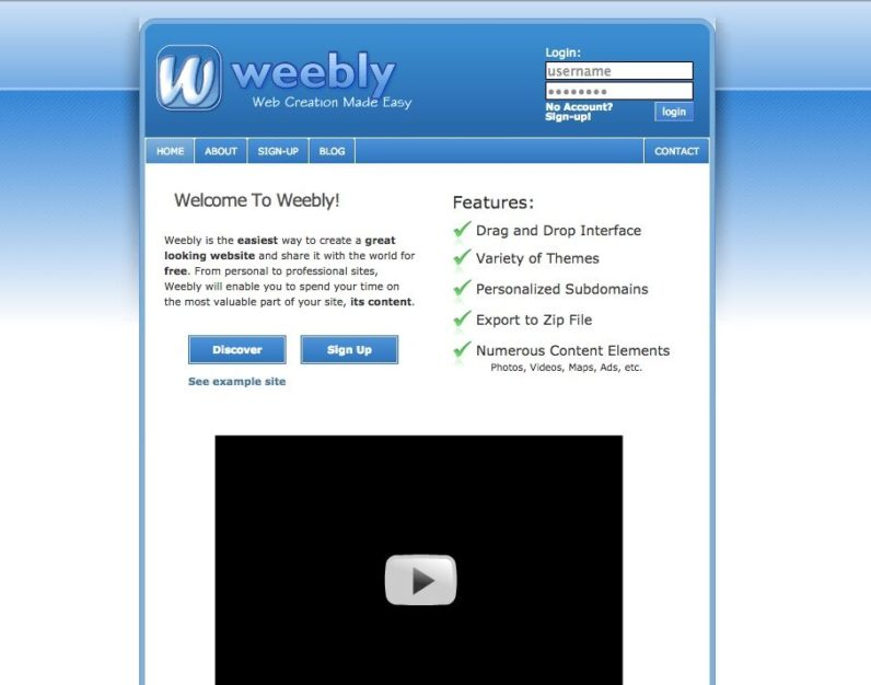 Weebly looks back on 10 years of Web design, and it's amazing