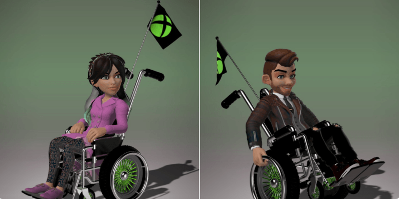 Microsoft's adding a wheelchair option for Xbox avatars, which is awesome