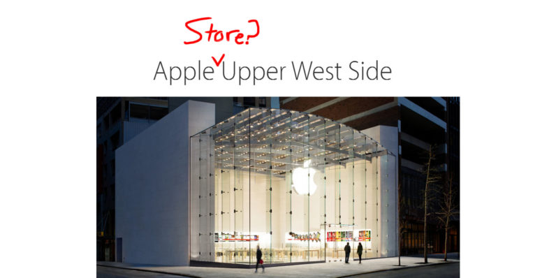 Apple's stores are no longer called 'Apple Store'