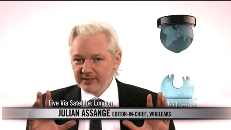 4Chan's Operation Hotpockets is trying to get Julian Assange back online