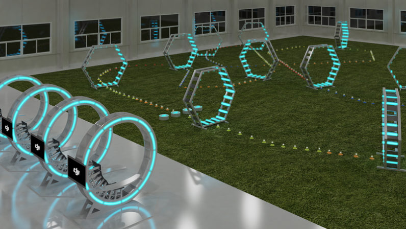 DJI is going to open a massive drone racing arena later this month