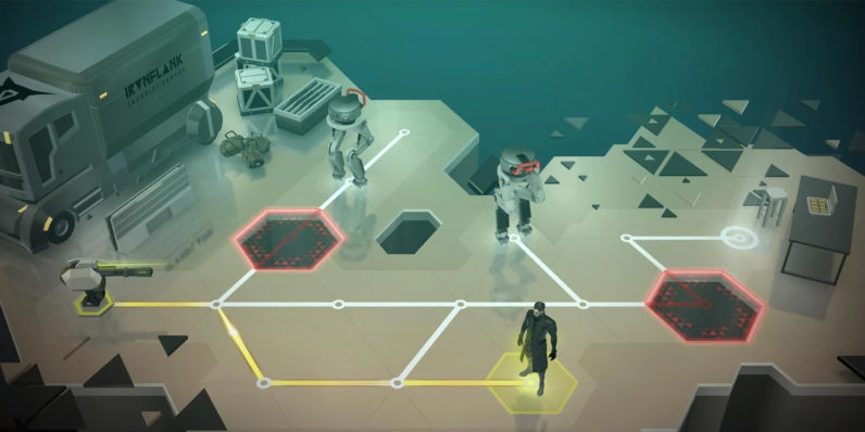 Deus Ex GO is a beautiful new mobile puzzle game that's totally worth your $5