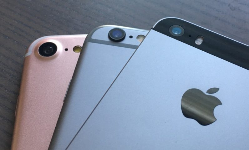 In photos: iPhone 7 (dummy) compared to the 6S, Plus and SE