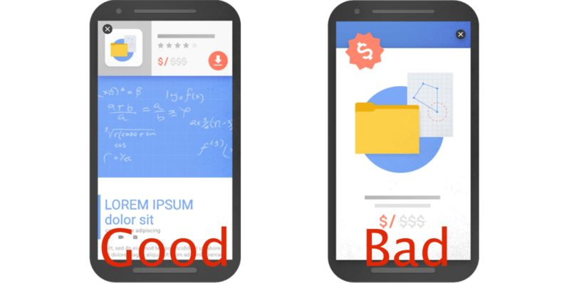 Google will soon rank some mobile sites with pop-ups lower in search