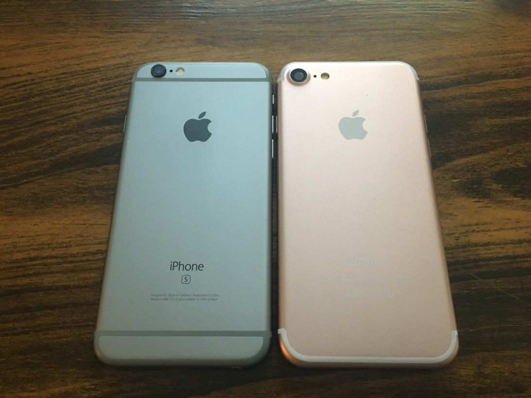 reputable site 69fdc 54ced In photos: iPhone 7 (dummy) compared to the 6S, Plus and SE