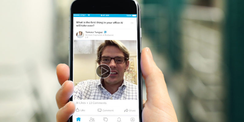LinkedIn introduces Q&A videos from influencers into your feed
