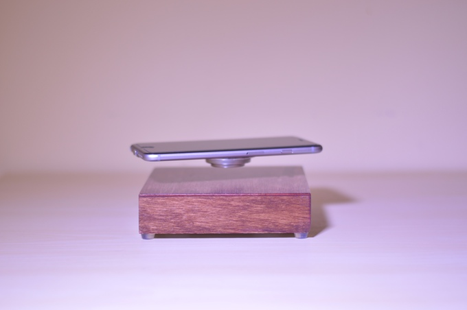 You probably don't need this levitating phone charger, but it's cool anyway