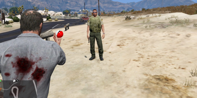 This free mod lets you play a twisted version of Pokémon in GTA V