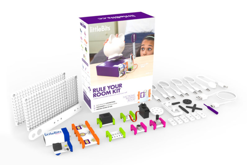 'littleBits' is training small intelligence operatives with its new 'Rule Your Room' ...