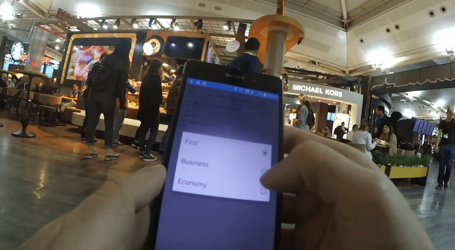 Fake QR code app gets this hacker into airport lounges free