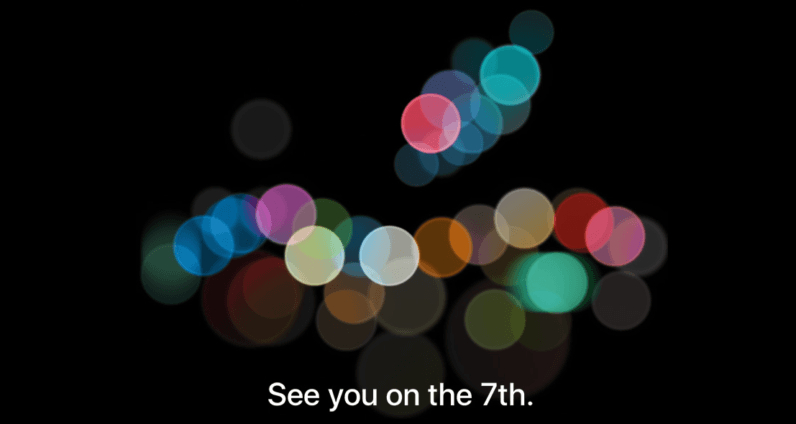 Apple sends invitations to September 7 event, probably for the iPhone 7