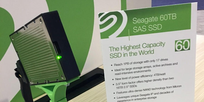 Seagate's new 60TB SSD is the largest the world has ever seen
