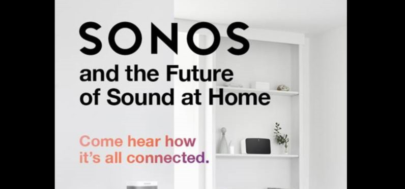 Sonos sends out invites to a mystery event on August 30