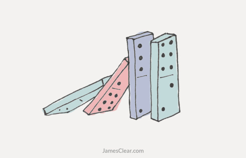 The domino effect: How to create a chain reaction of good habits