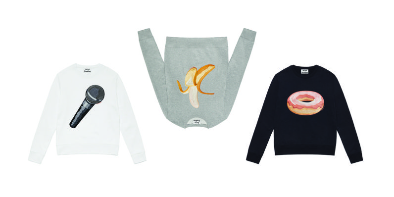 You can now buy a $300 banana emoji sweater from this high