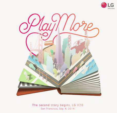 LG will reveal the world's first Android Nougat phone on September 6