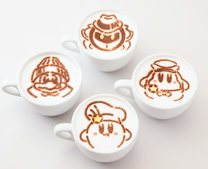The Kirby Caf 233 In Tokyo Is Serving Extremely Weird And