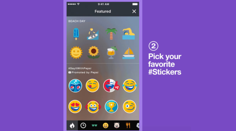 Twitter takes a cue from Snapchat with the inevitable launch of promoted stickers