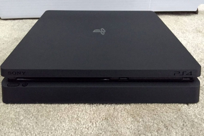 This might be the new, slimmer PlayStation 4 launching next month