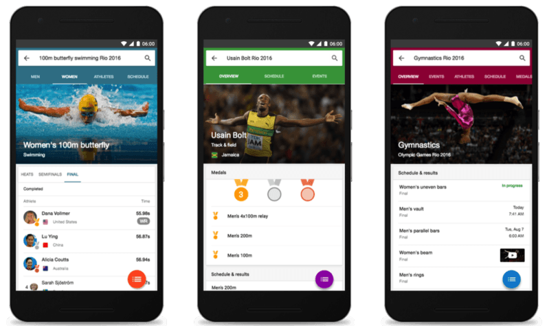Google wants to be your guide to the 2016 Rio Olympic Games