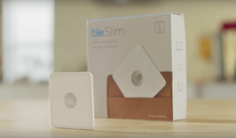 Tile's lost-item tracking device just got super thin