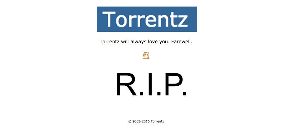 Popular torrent site Torrentz.eu mysteriously shuts down