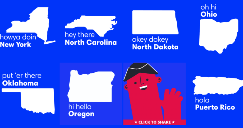 Designer creates a handy GIF guide to remind every state when to register to vote