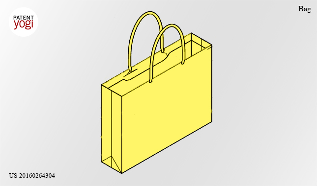 Kickass new patents: In its bid for world domination, Apple patents a…. shopping bag?