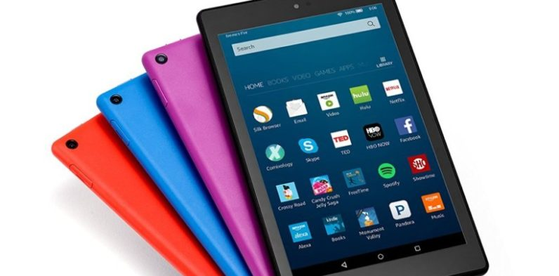 Amazon brings Alexa to its tablets with the new $89 Fire HD 8