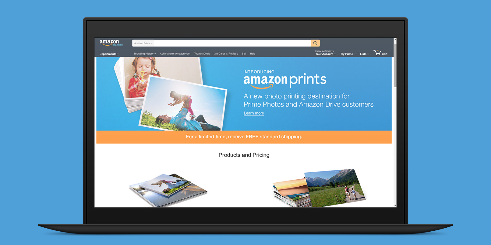 Amazon will now print your photos for you for as little as 9c
