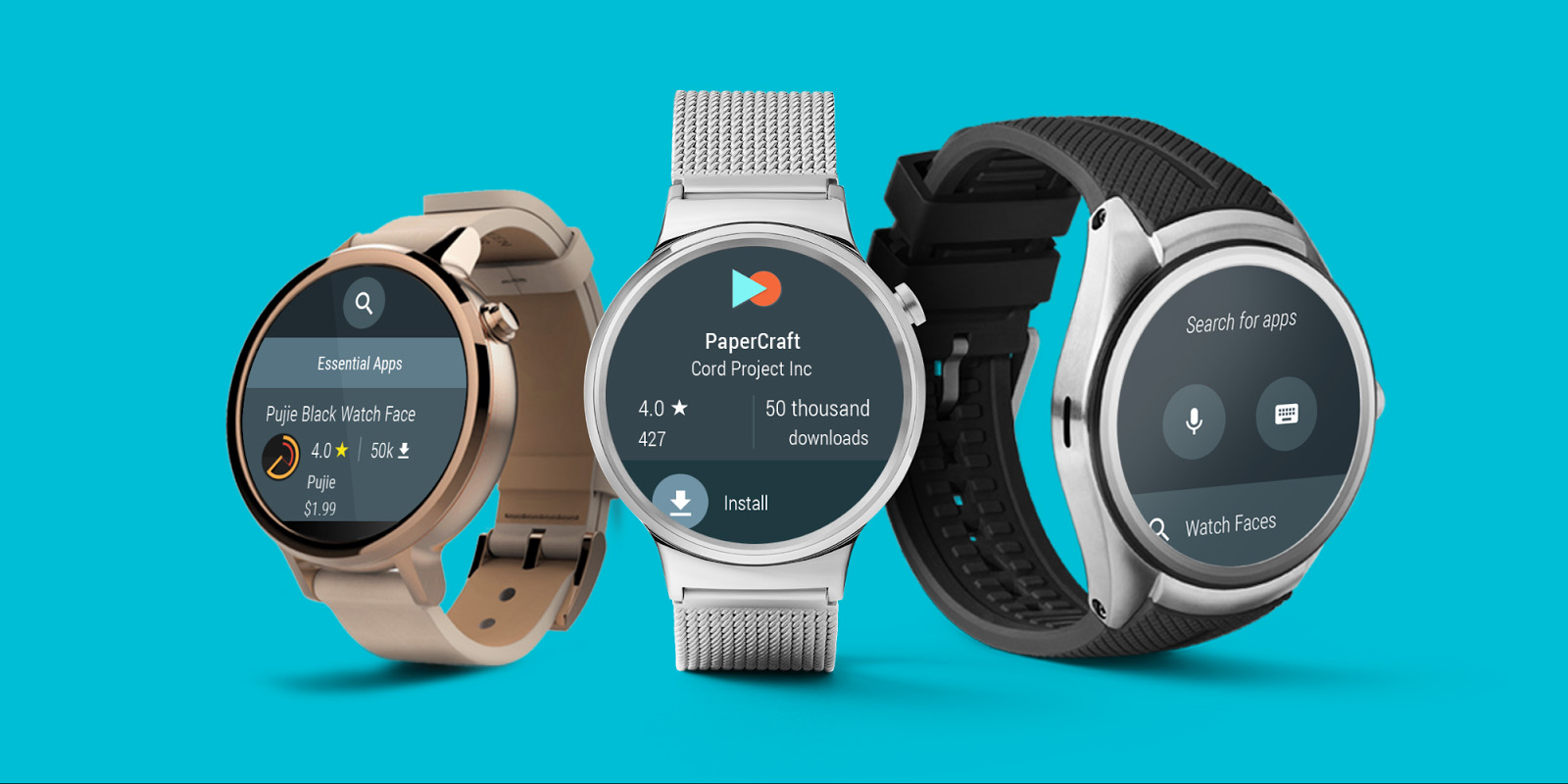 Google is jamming an app store into Android Wear watches