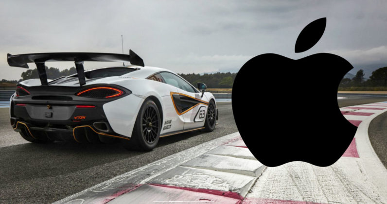 Apple reportedly considering buying McLaren for some reason