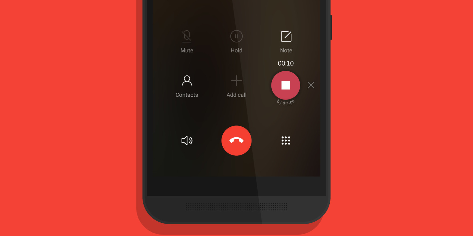 Drupe adds call recording to its Android dialer app