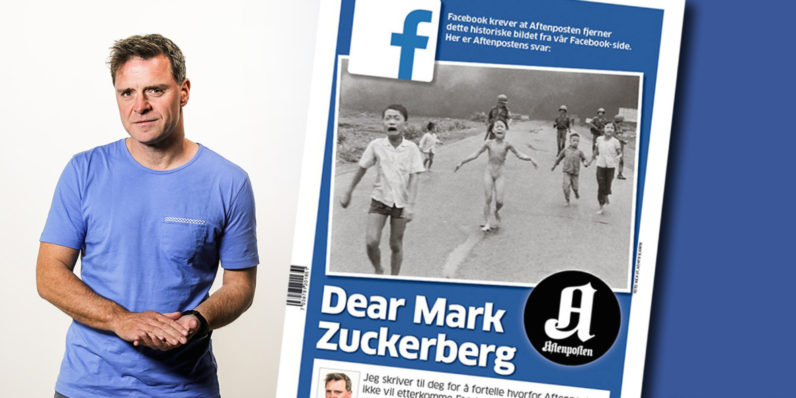 Zuckerberg slammed by Norwegian paper over Facebook censoring iconic war photo [Update: Facebook Repents] ...