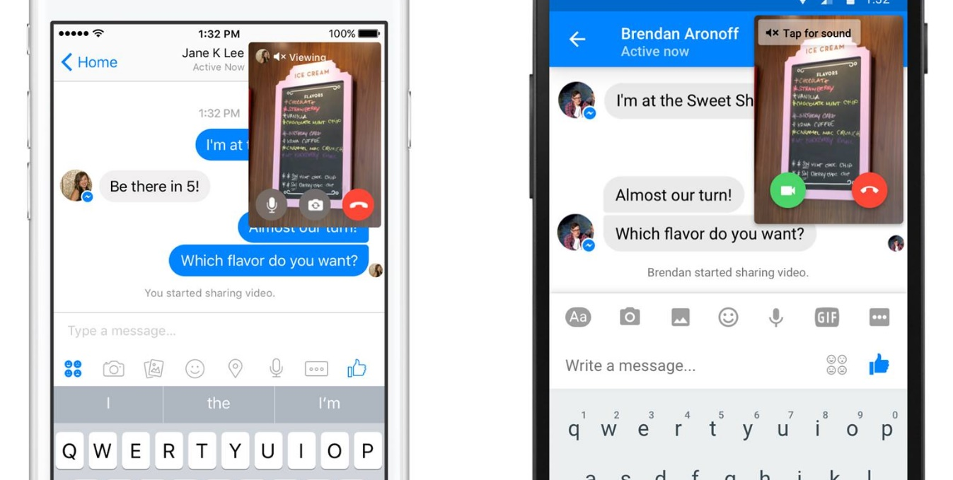 Messenger launches instant video for video calls on steroids buycottarizona Images